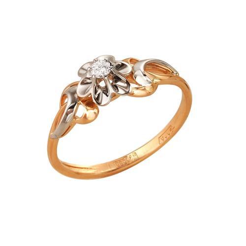 Золотое кольцо Бриллиант арт. 1-104-870 1-104-870