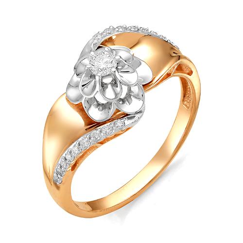 Золотое кольцо Бриллиант арт. 1-106-187 1-106-187