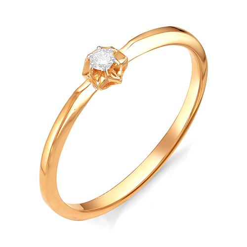 Золотое кольцо Бриллиант арт. 1-106-212 1-106-212