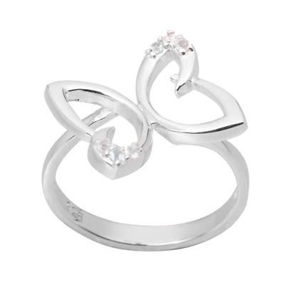 Серебряное кольцо Топаз арт. 023791-01-02 023791-01-02