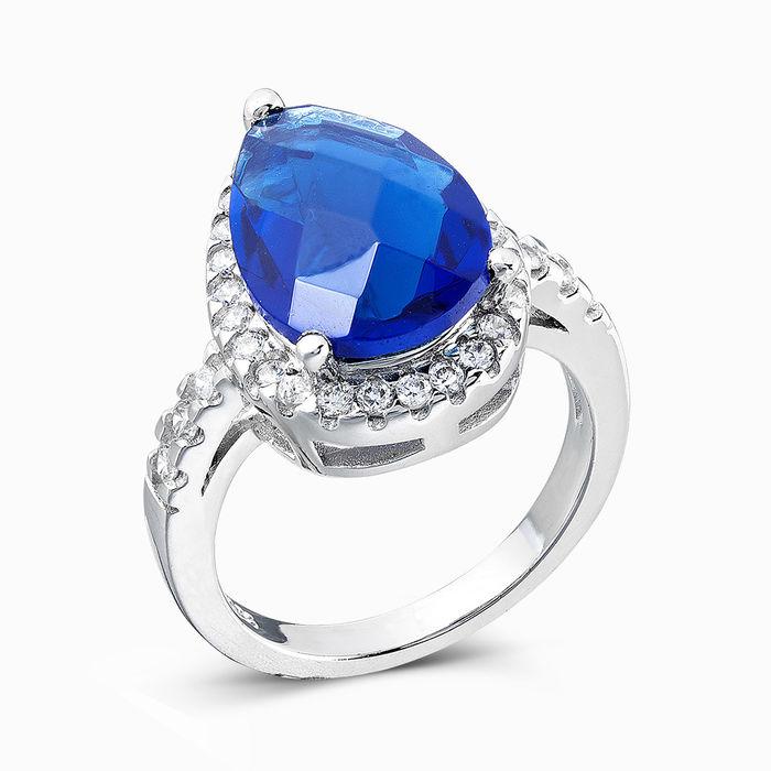 Серебряное кольцо Фианит арт. 00628 00628