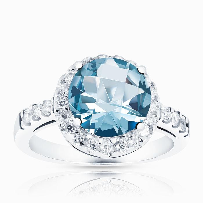 Серебряное кольцо Фианит арт. 00701 00701