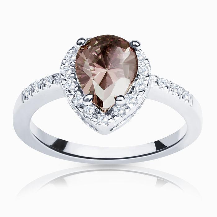 Серебряное кольцо Фианит арт. 00646 00646
