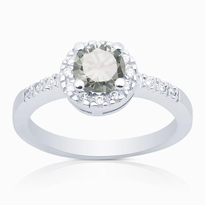 Серебряное кольцо Фианит арт. 00597 00597