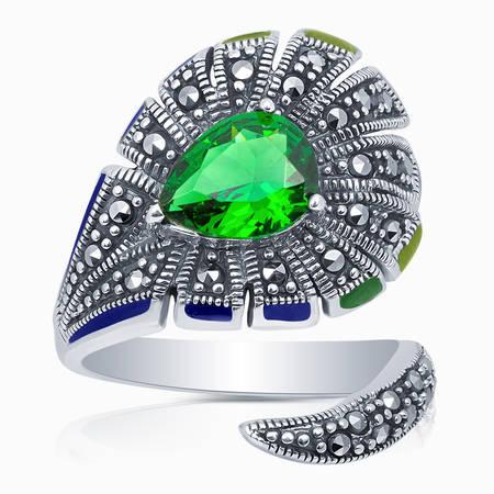 Серебряное кольцо Прочие и Фианит арт. 09854 09854