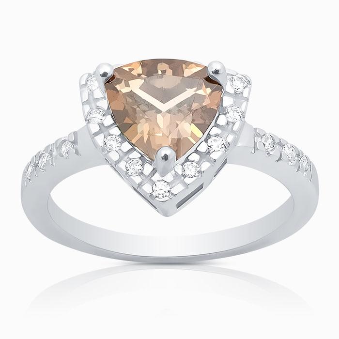 Серебряное кольцо Фианит арт. 00653 00653