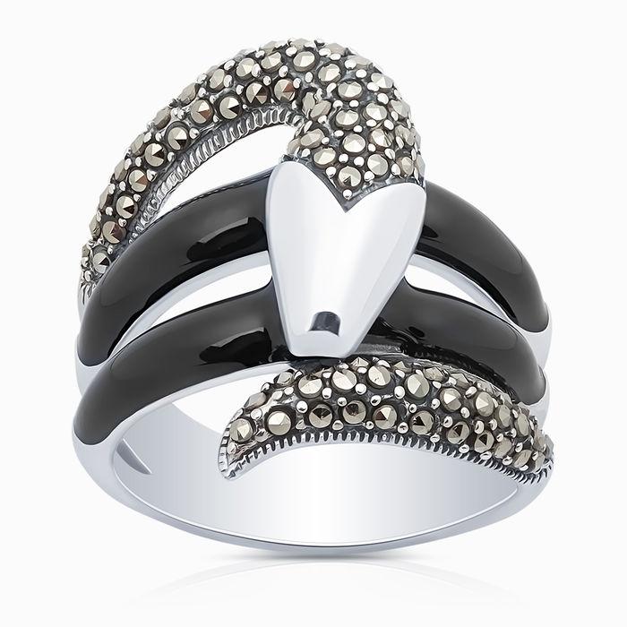 Серебряное кольцо Прочие и Эмаль арт. 09855 09855