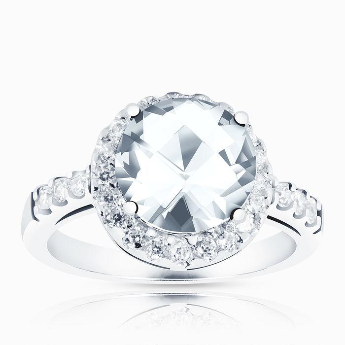 Серебряное кольцо Фианит арт. 02659 02659