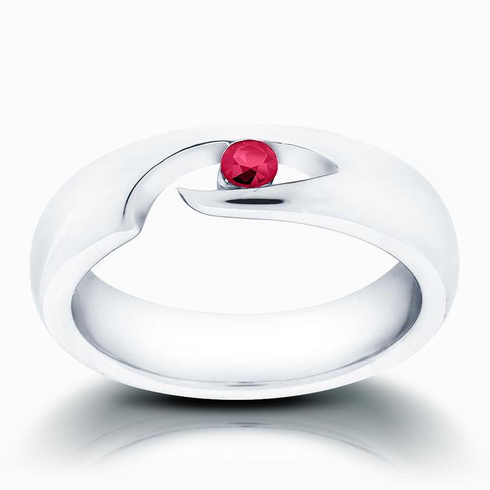 Серебряное кольцо Рубин арт. 00871 00871