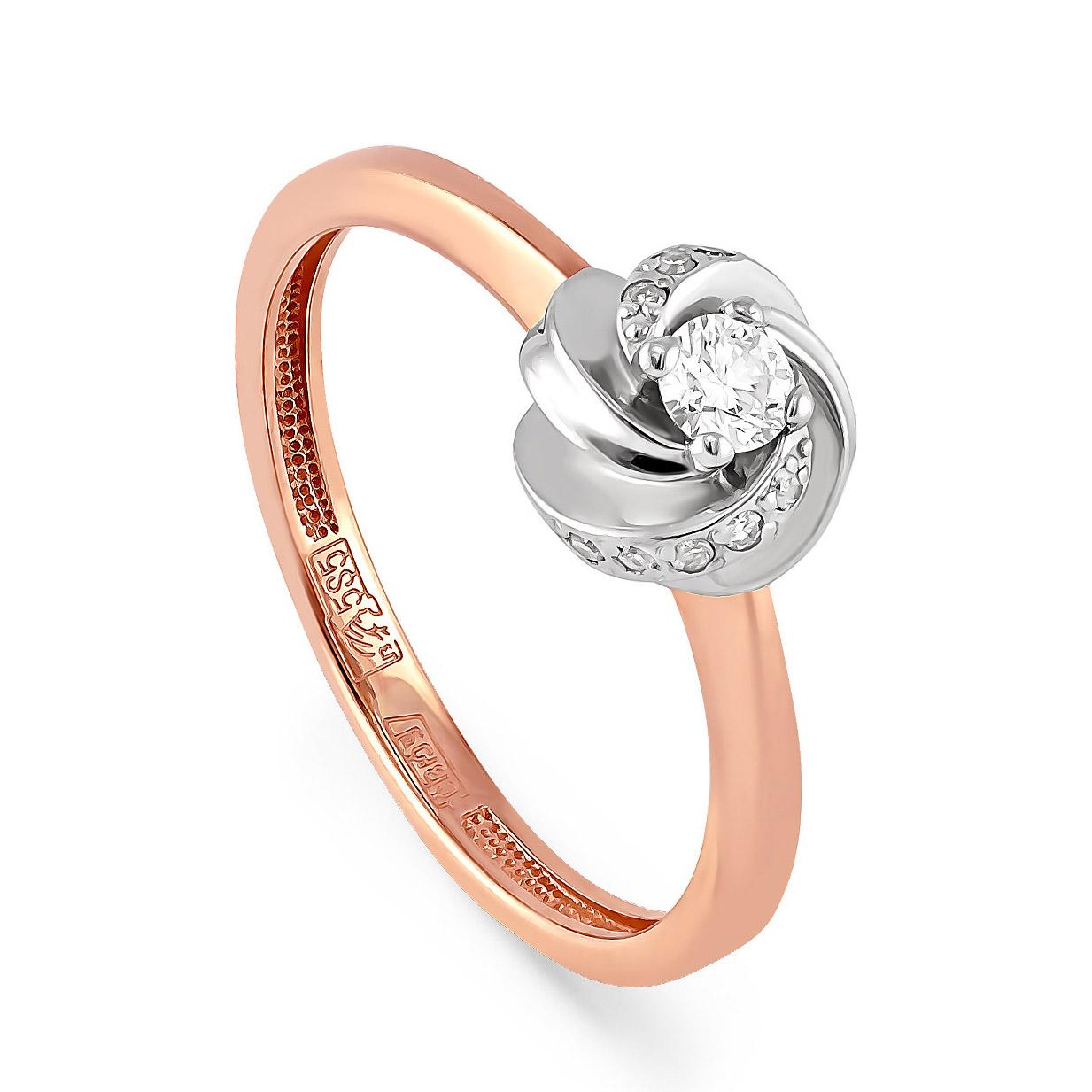 Золотое кольцо Бриллиант арт. 11-0632 11-0632