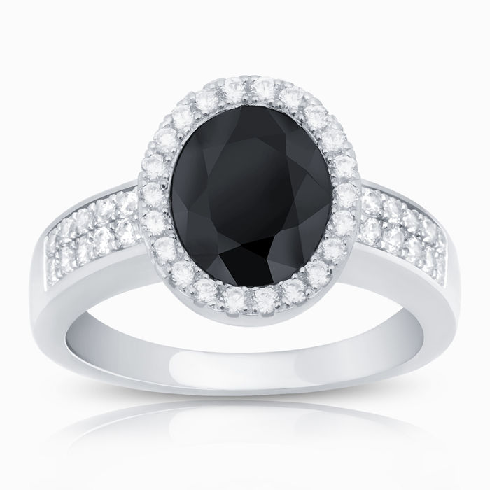 Серебряное кольцо Фианит арт. 09875 09875