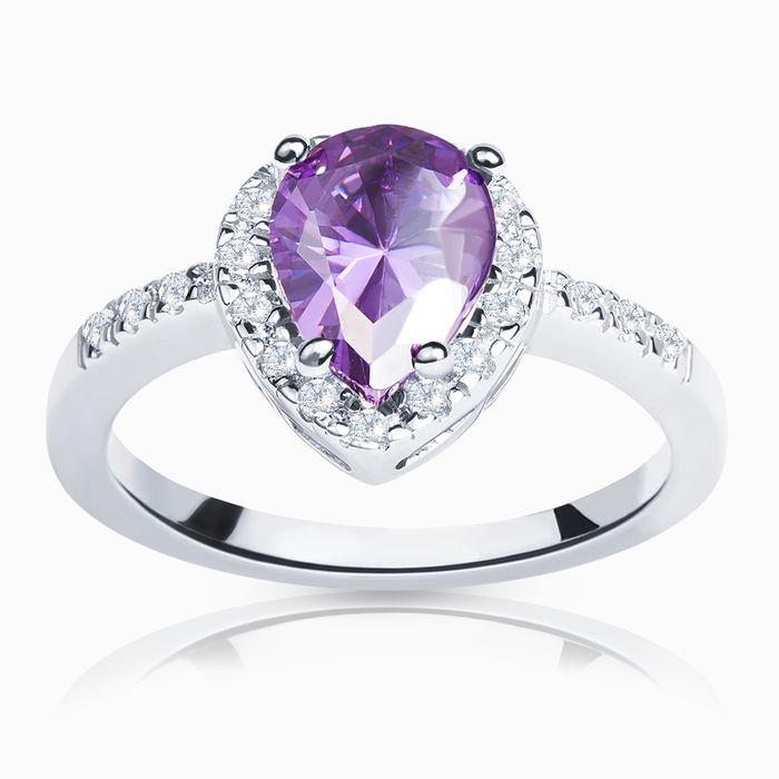 Серебряное кольцо Фианит арт. 00655 00655