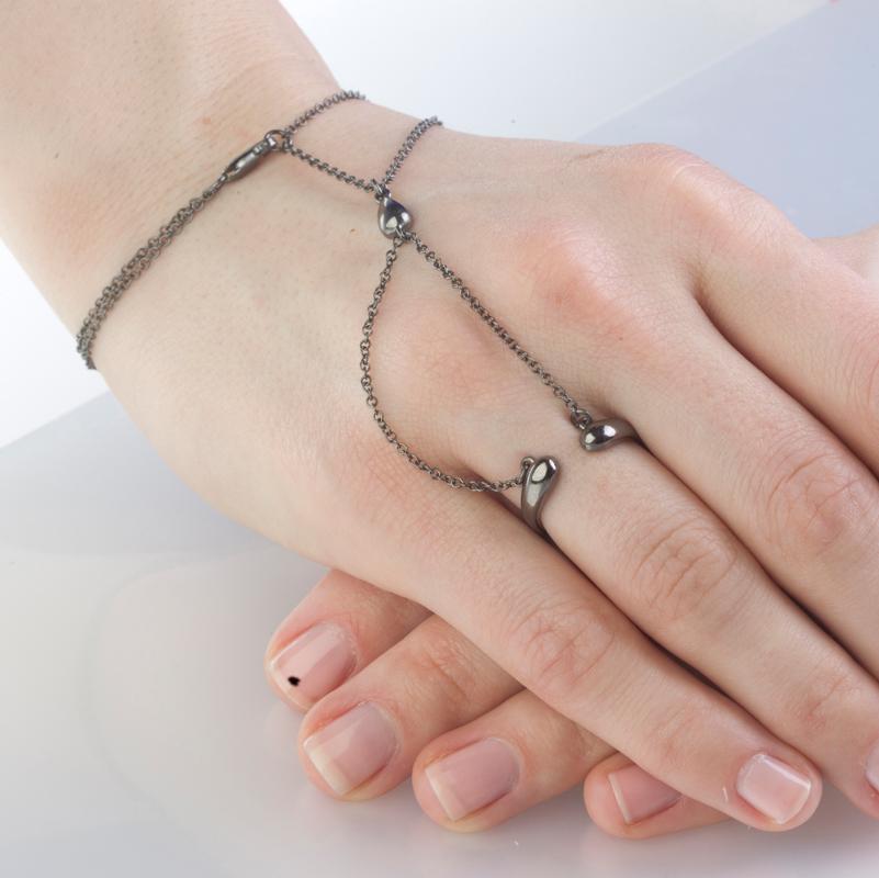 Наладонный браслет из серебра арт. 426910-1 426910-1