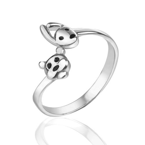 Серебряное кольцо Эмаль арт. 125581-1 125581-1