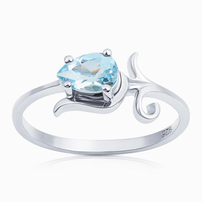 Серебряное кольцо Топаз арт. 04981 04981