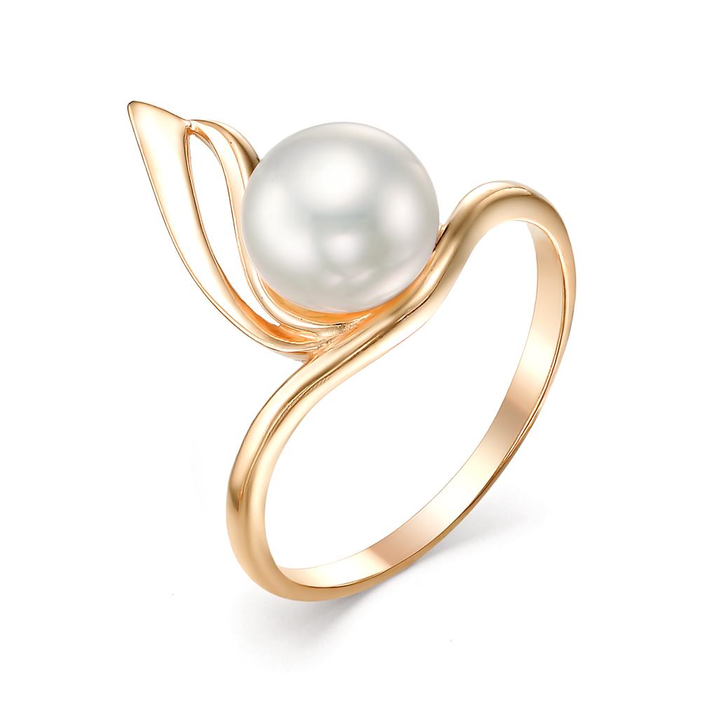 Золотое кольцо Жемчуг арт. 21016A1 21016A1