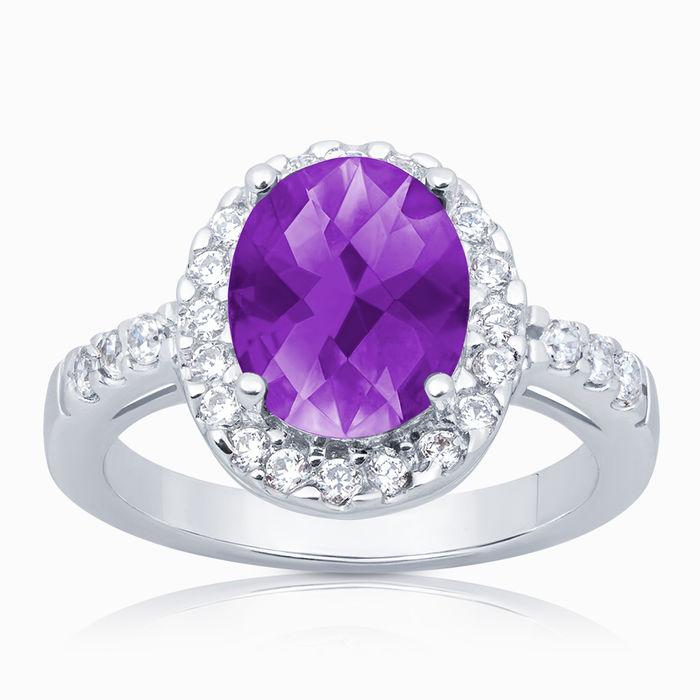 Серебряное кольцо Фианит арт. 00673 00673