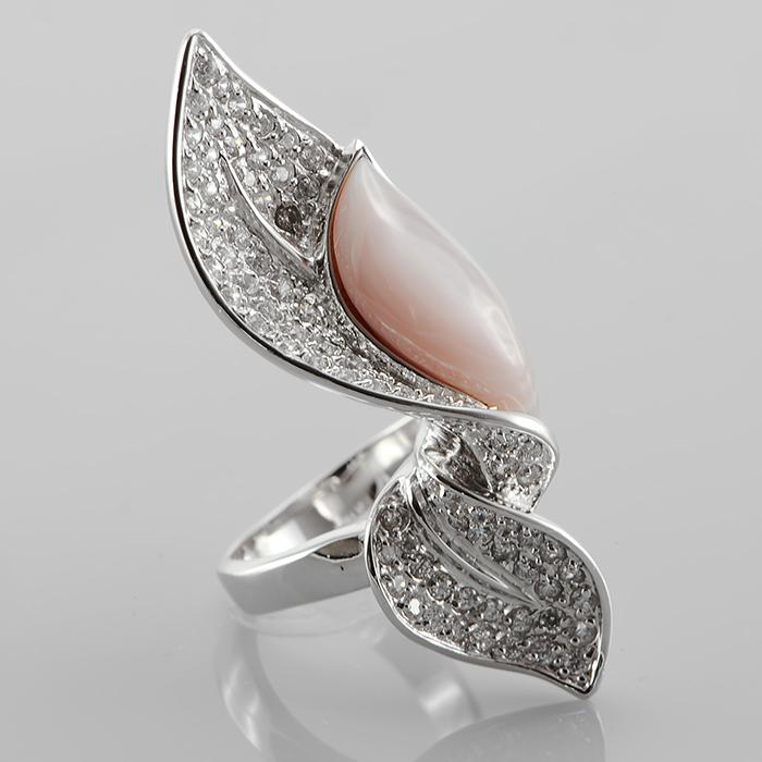 Серебряное кольцо Прочие и Фианит арт. r903186-a r903186-a