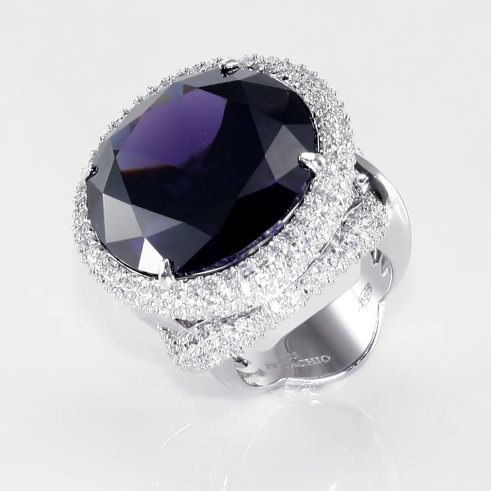 Серебряное кольцо Фианит арт. r904639 r904639