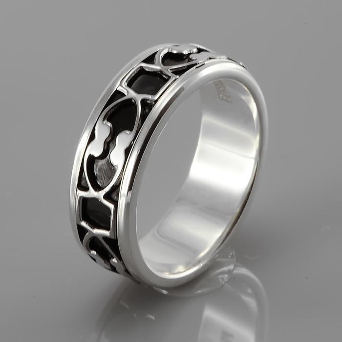 Серебряное кольцо Эмаль арт. ragr-109-ipb ragr-109-ipb