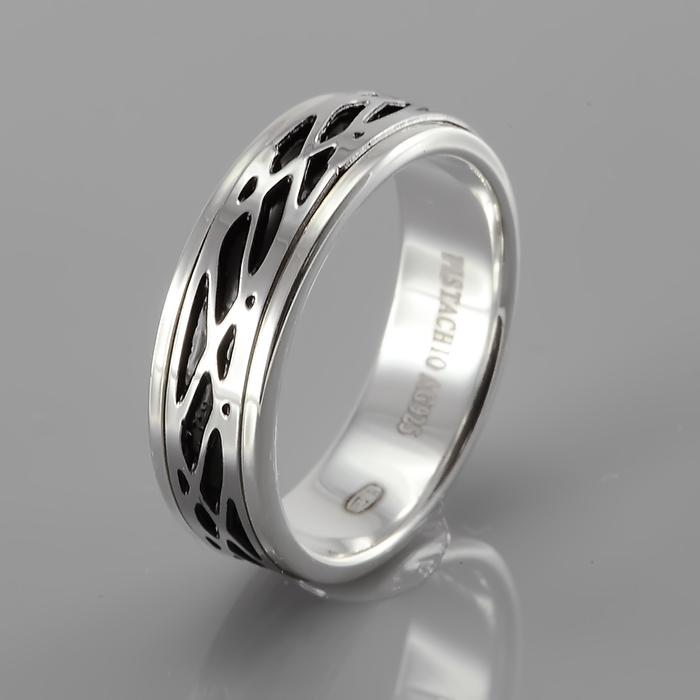 Серебряное кольцо Эмаль арт. ragr-138-ipb ragr-138-ipb