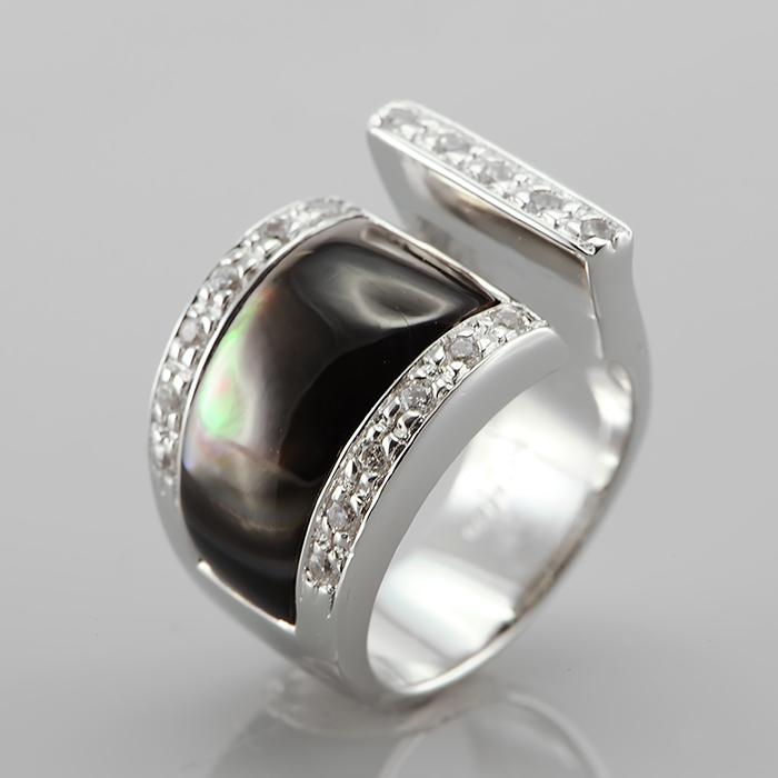 Серебряное кольцо Прочие и Фианит арт. r902696 r902696