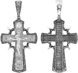 Серебряный крест арт. 00061 00061