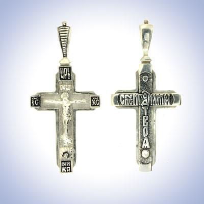 Серебряный крест арт. 51721 51721