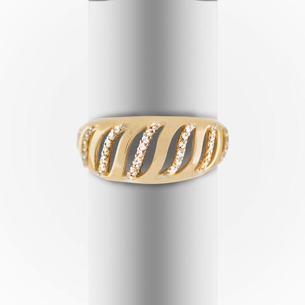 Золотое кольцо Фианит арт. 1102542 1102542