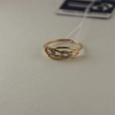 Золотое кольцо Фианит арт. 1102543 1102543