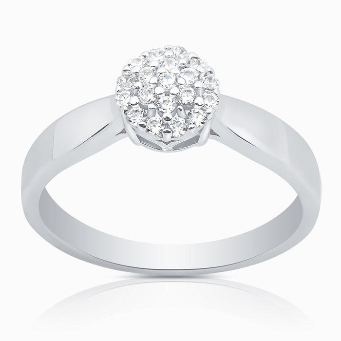 Серебряное кольцо Фианит арт. 05034 05034