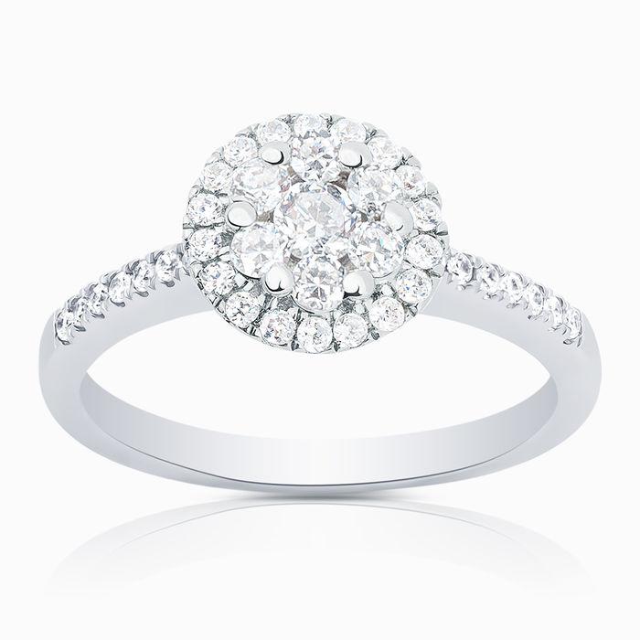 Серебряное кольцо Фианит арт. 01723 01723