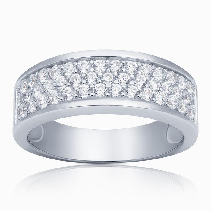 Серебряное кольцо Фианит арт. 02917 02917