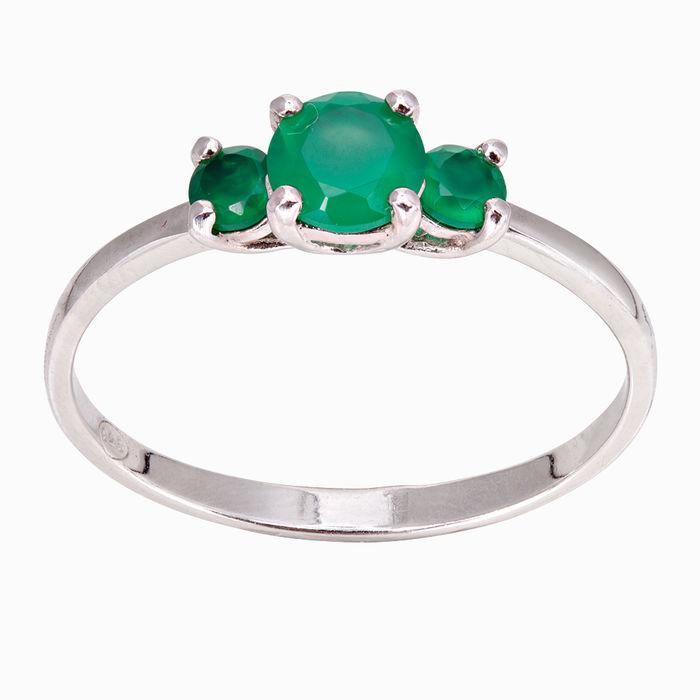 Серебряное кольцо Агат арт. 15807 15807