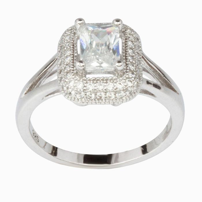 Серебряное кольцо Фианит арт. 16454 16454