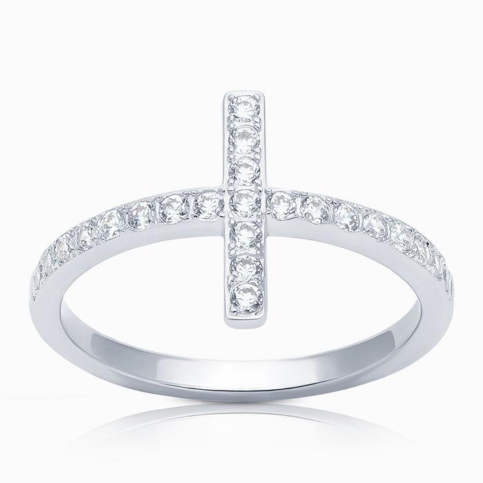 Серебряное кольцо Фианит арт. 08592 08592