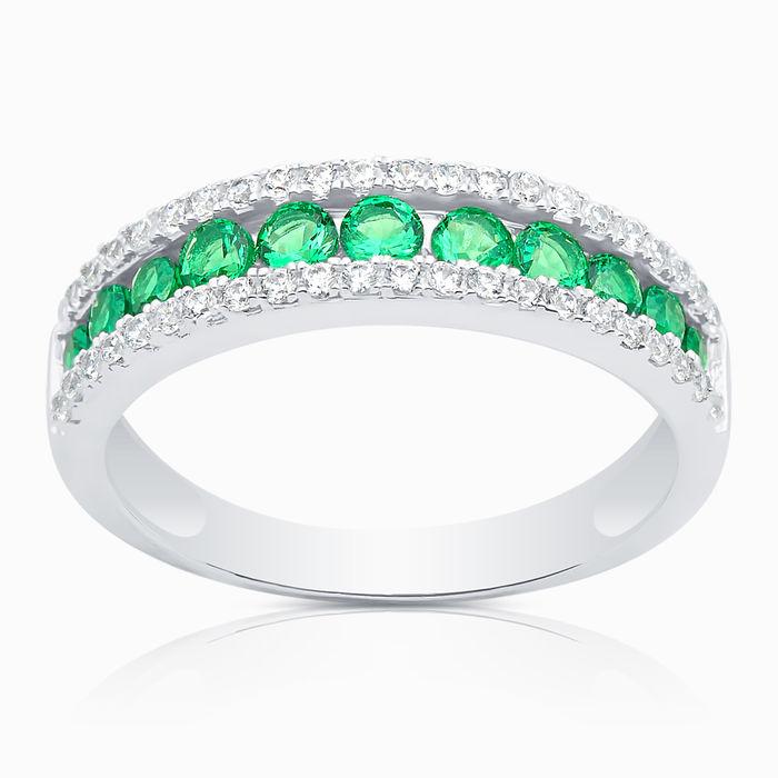 Серебряное кольцо Фианит арт. 04122 04122