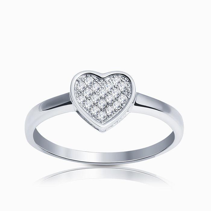 Серебряное кольцо Фианит арт. 09626 09626