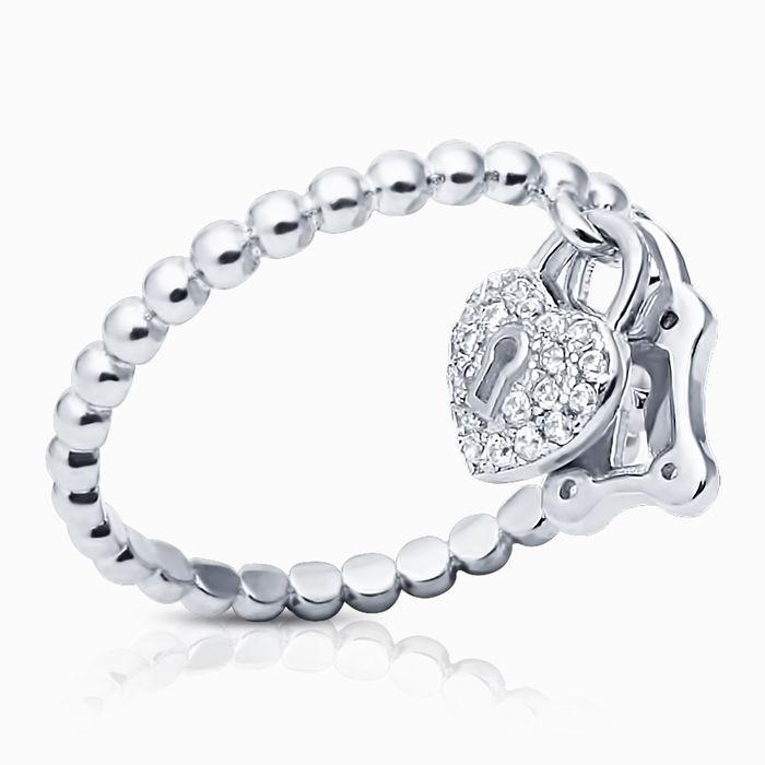 Серебряное кольцо Фианит арт. 16436 16436