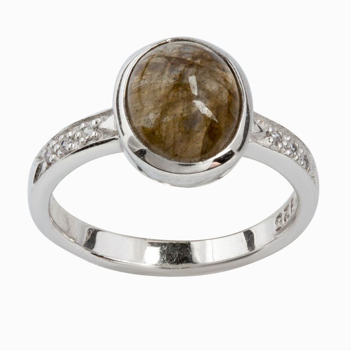 Серебряное кольцо Прочие и Фианит арт. 14400 14400