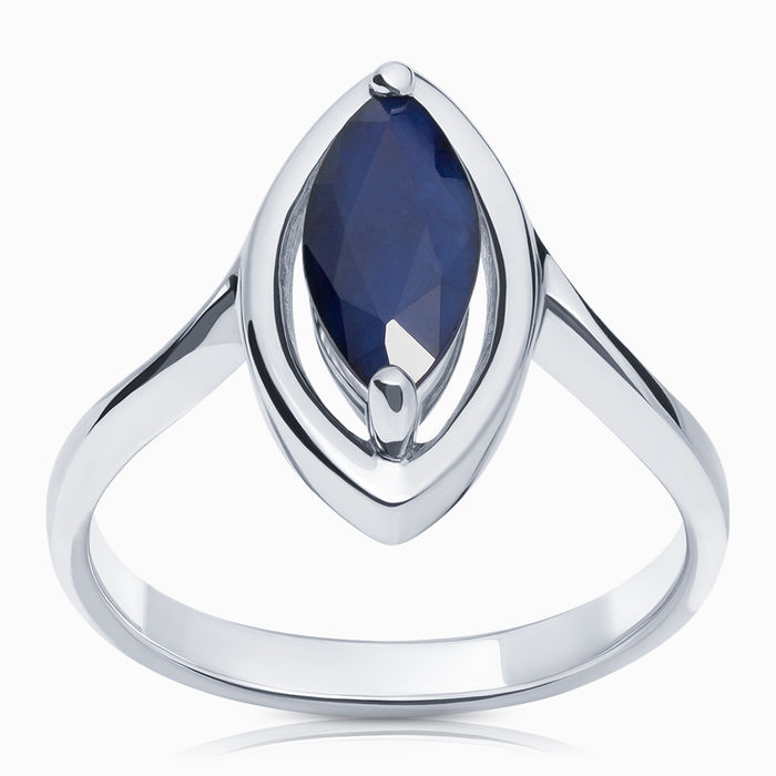Серебряное кольцо Сапфир арт. 15849 15849