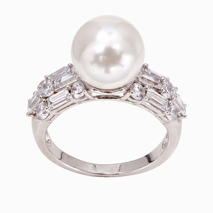 Серебряное кольцо Прочие и Фианит арт. 12011 12011