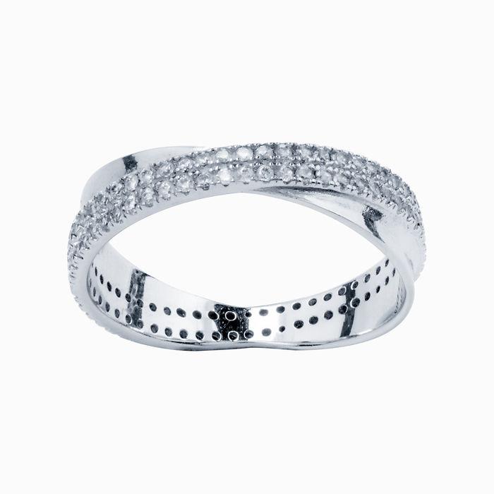 Серебряное кольцо Фианит арт. 16428 16428