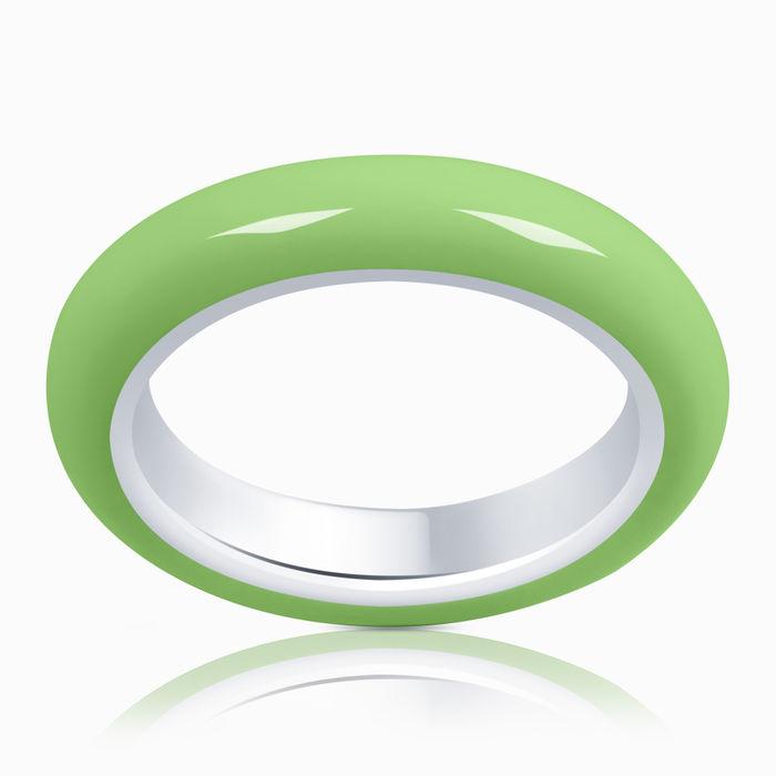 Серебряное кольцо Эмаль арт. 06718 06718