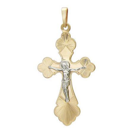 Крест из лимонного золота арт. 01р760742ж 01р760742ж