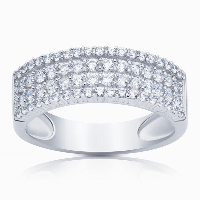 Серебряное кольцо Фианит арт. 06601 06601