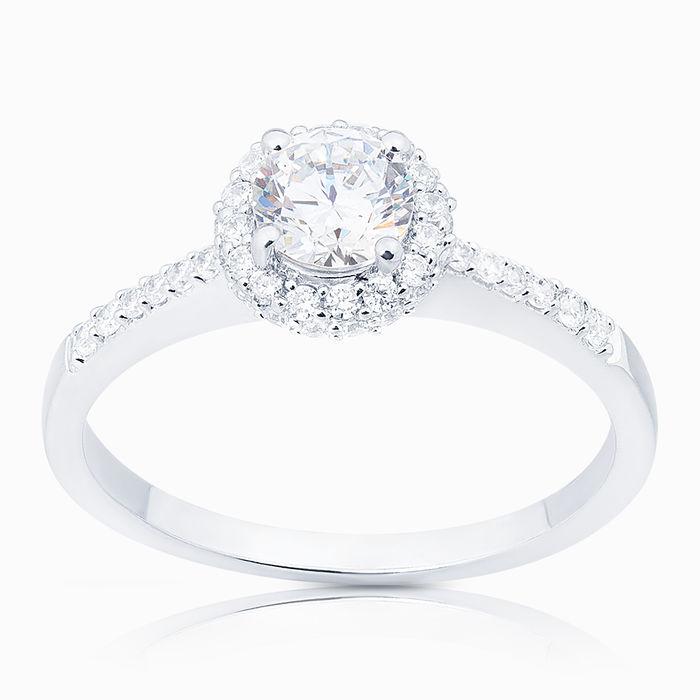 Серебряное кольцо Фианит арт. 02508 02508