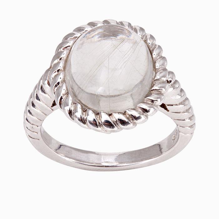 Серебряное кольцо Кварц арт. 15948 15948