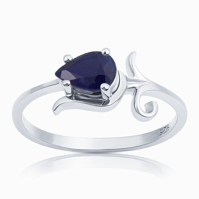 Серебряное кольцо Сапфир арт. 04979 04979