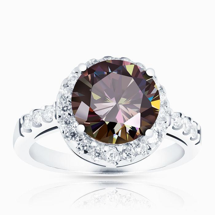 Серебряное кольцо Фианит арт. 00700 00700